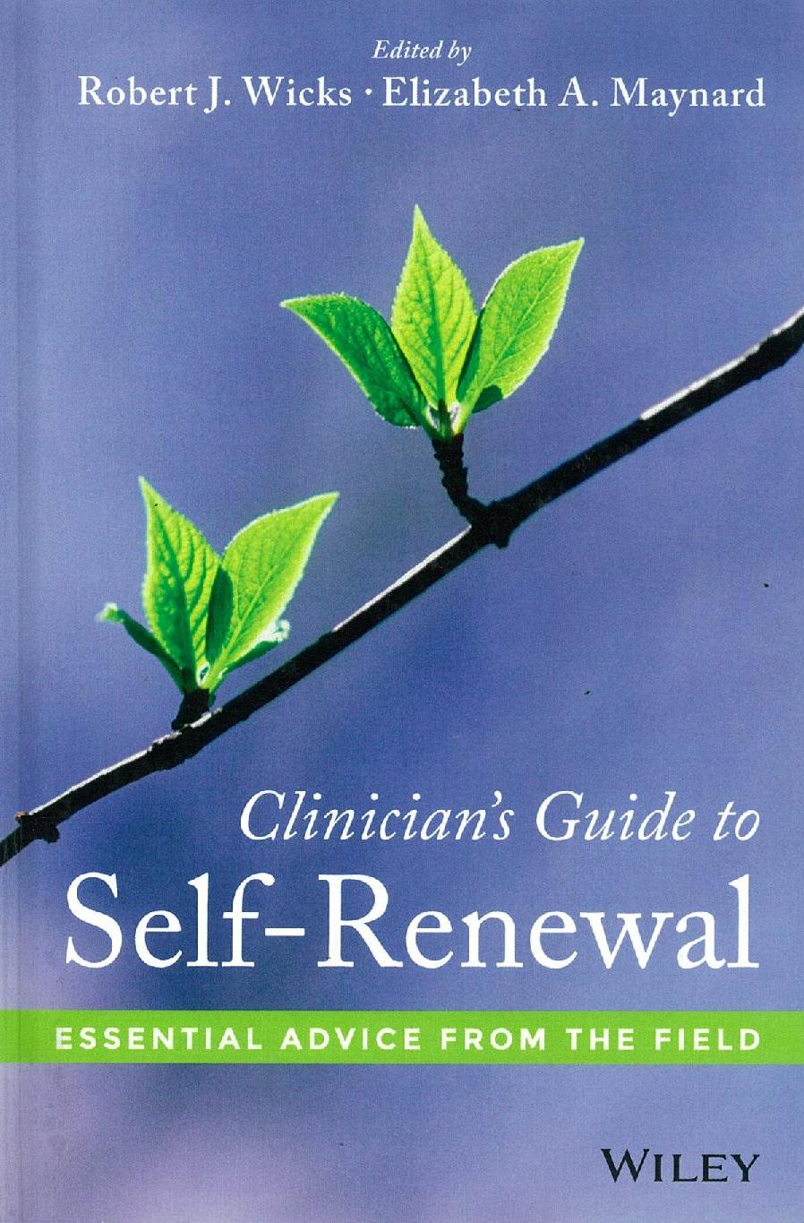 Clinicians Guide to Self Renewal